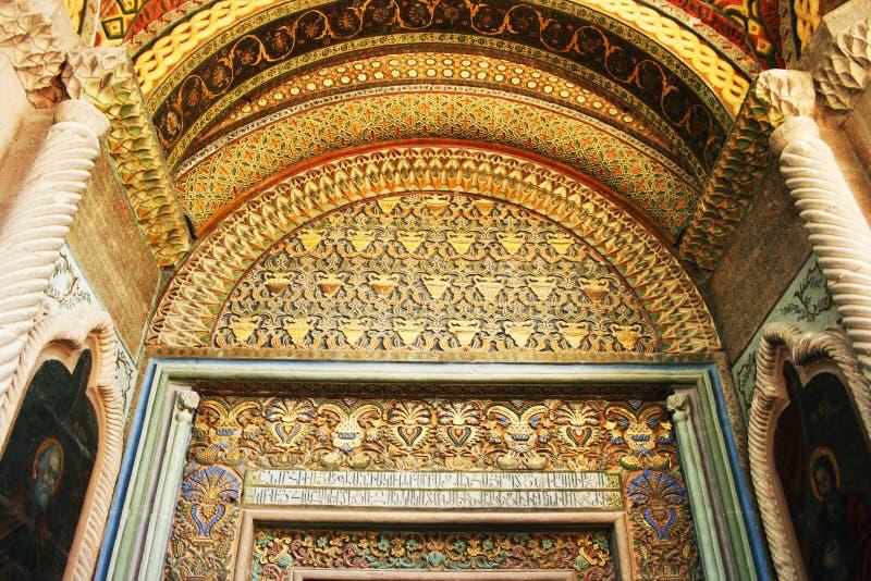 Oude Apostolische kerk in Armenië stock afbeeldingen
