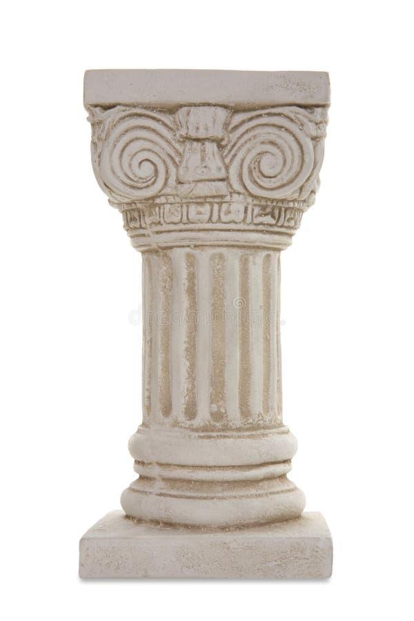 Oude Architecturale Kolom royalty-vrije stock afbeeldingen