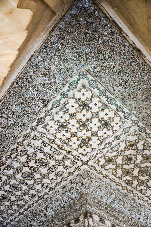 Oude architectuur in Jaipur, India royalty-vrije stock foto