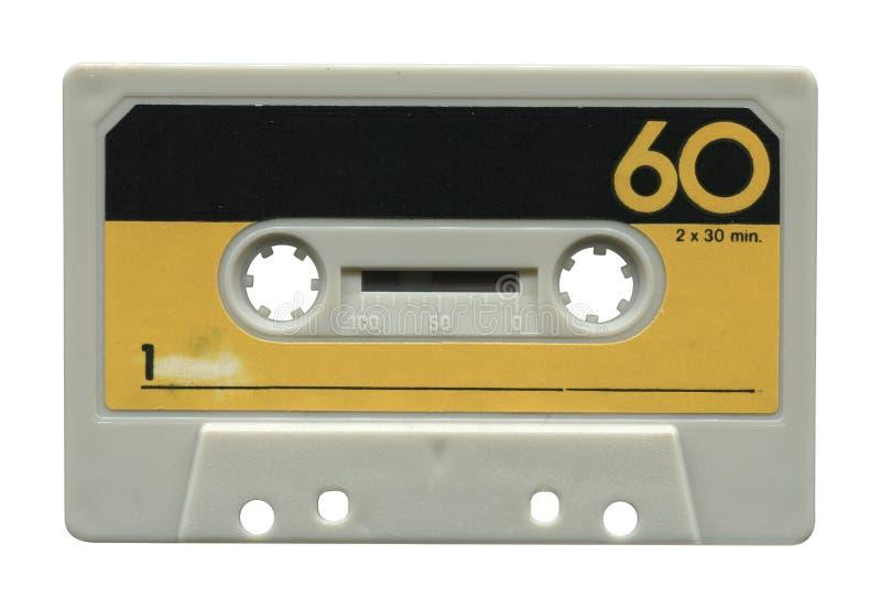Oude audiocassette stock afbeelding