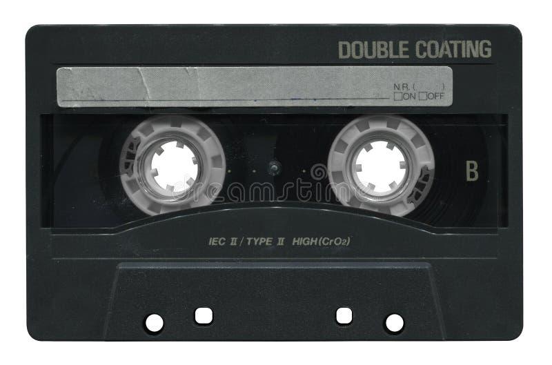 Oude audiocassette stock foto's