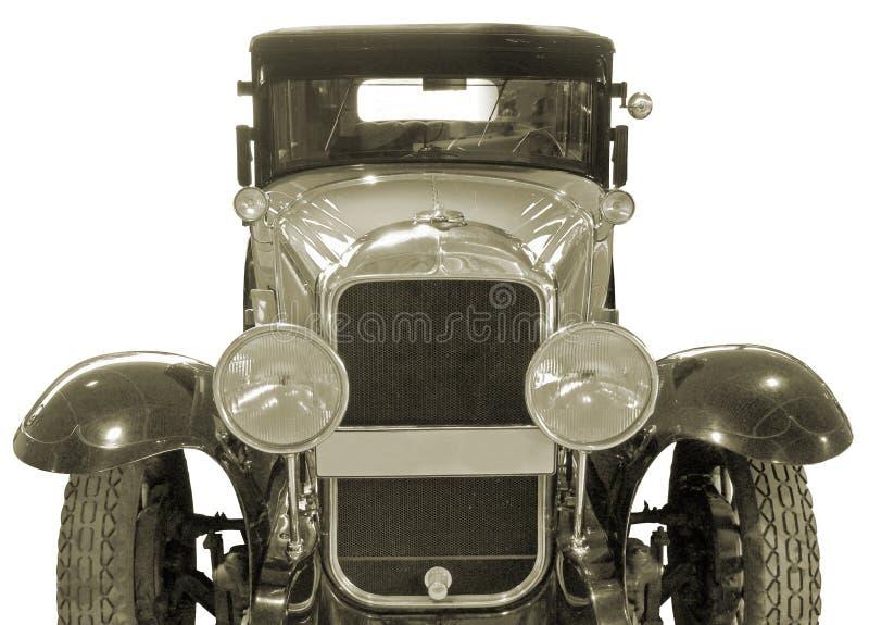 Oude auto. royalty-vrije stock afbeelding