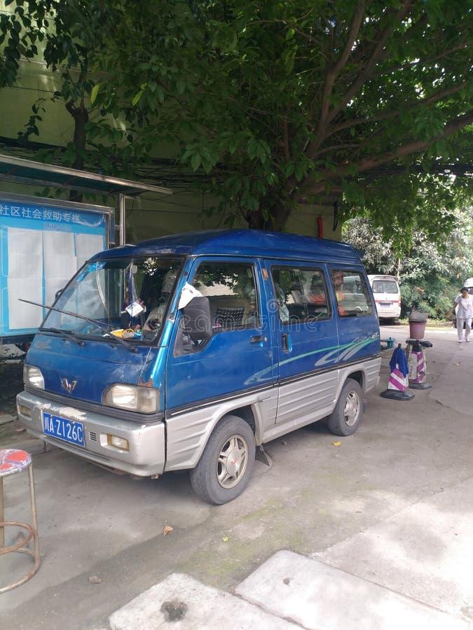 Oude auto China negen jaar versie stock foto's