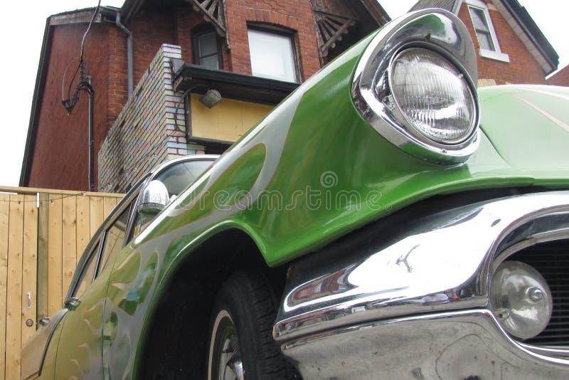 Oude Auto van een Vroegere Era stock foto