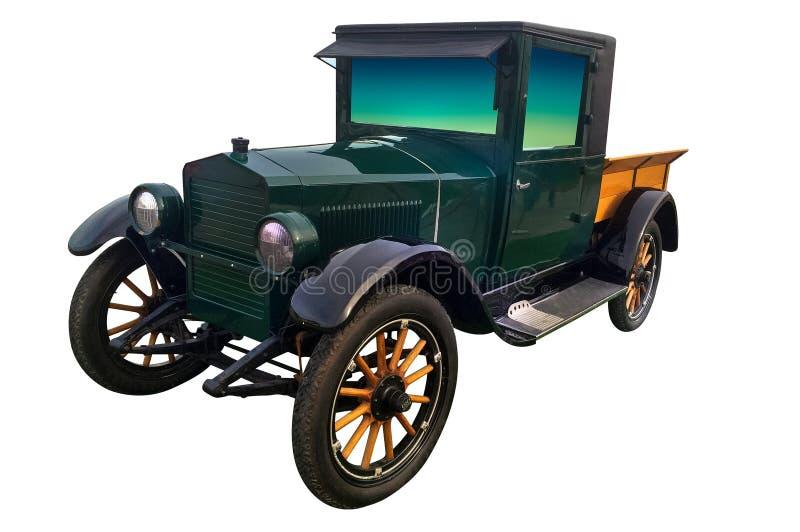 Oude autorikshaauto stock fotografie
