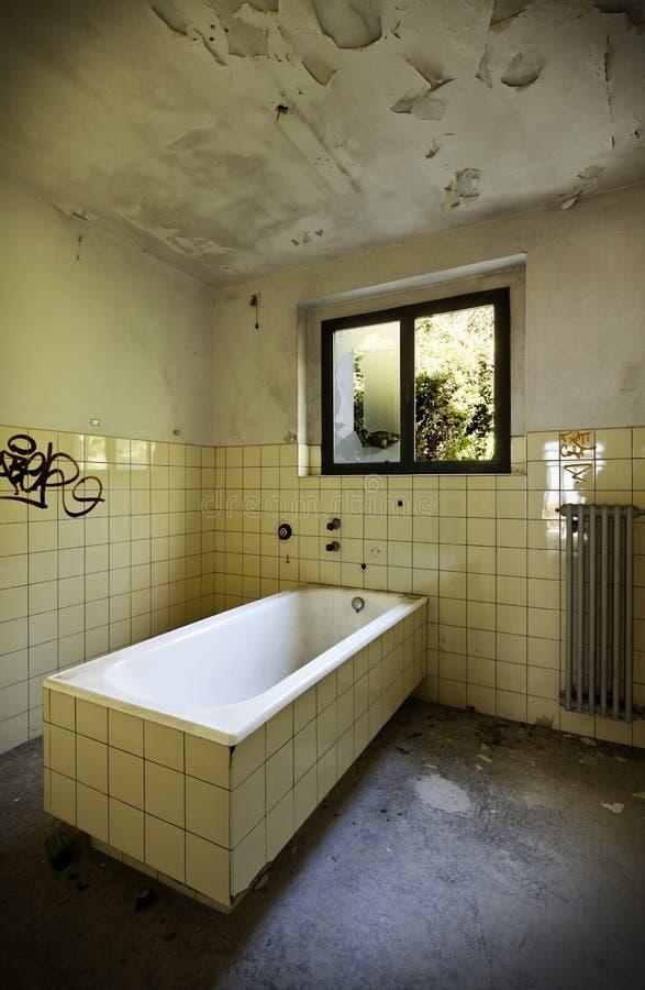 oude badkamers royalty-vrije stock foto