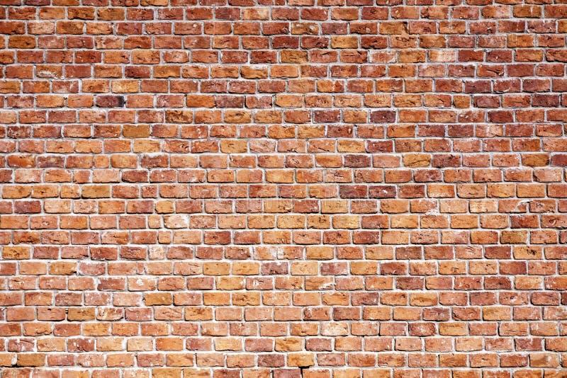 Oude Bakstenen muur stock afbeelding