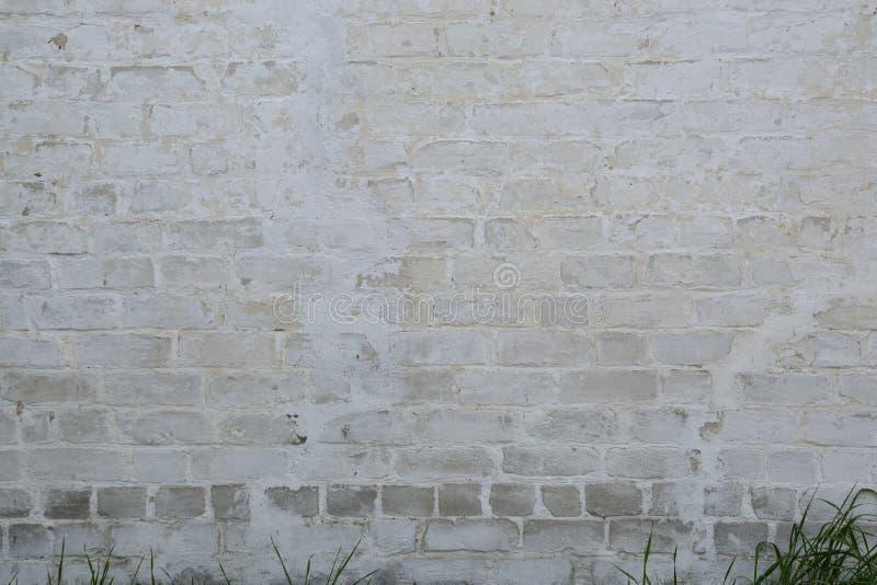 Oude bakstenen muur als achtergrond stock fotografie