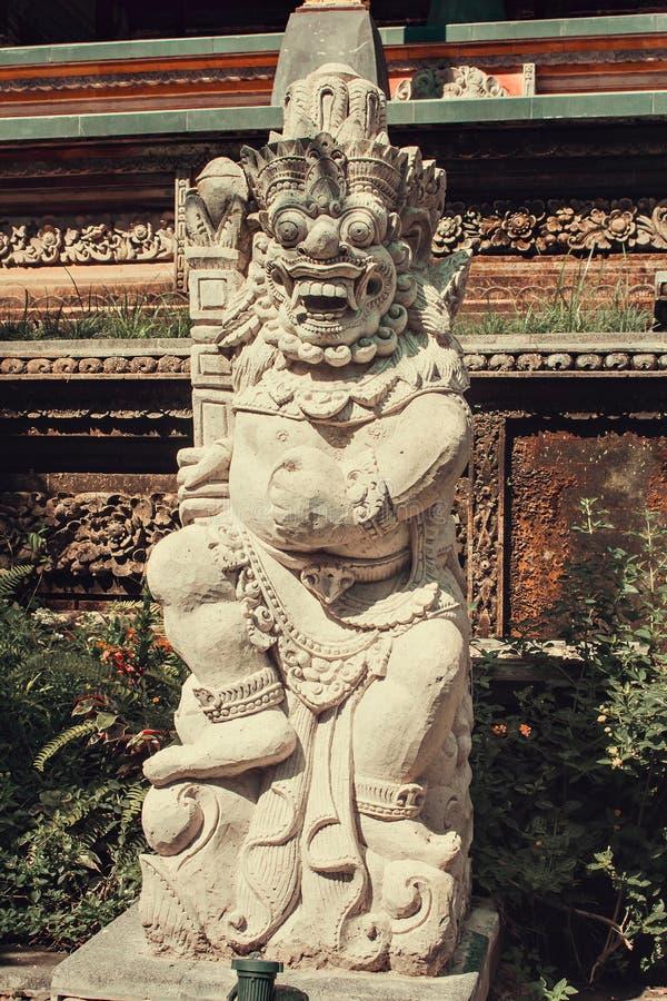 Oude Balinese standbeelden, hinduism royalty-vrije stock afbeelding