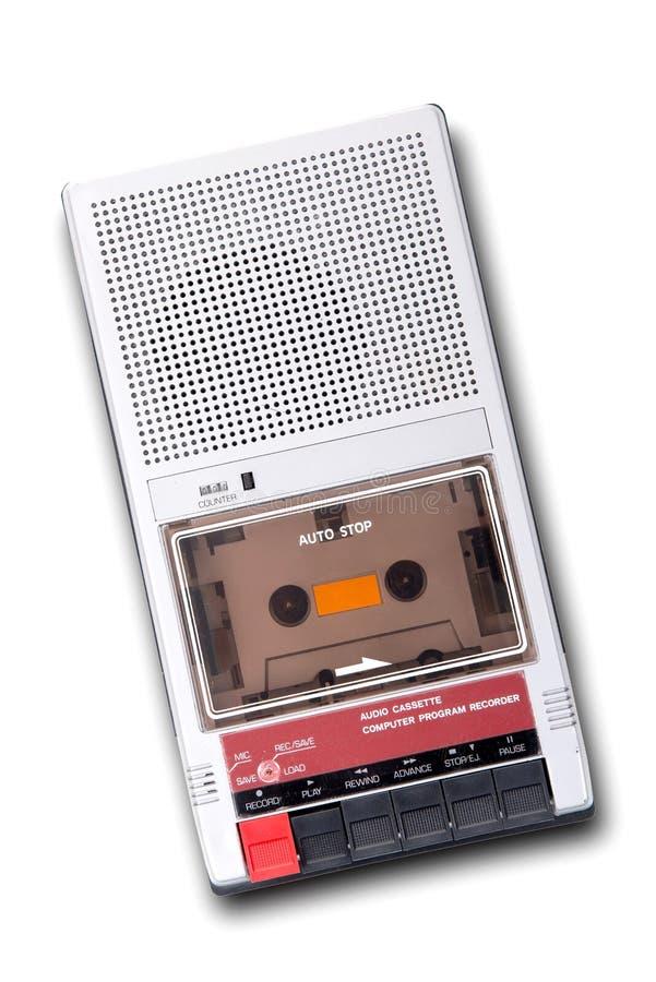 Oude bandrecorder stock afbeeldingen