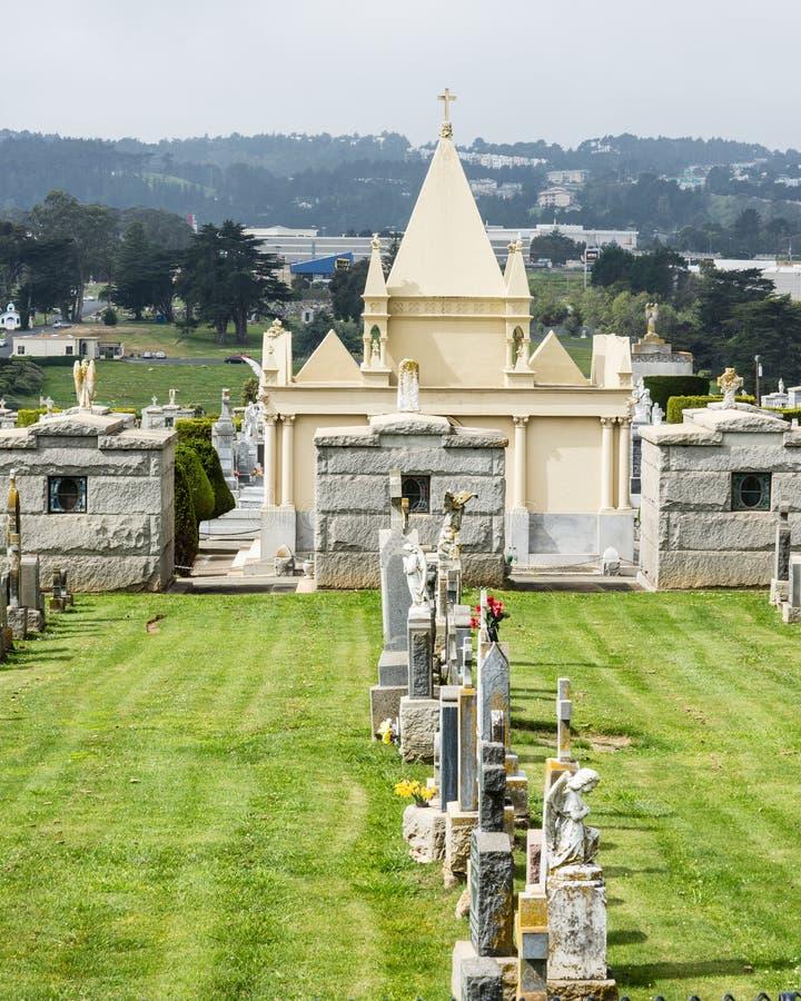 Oude Begraafplaats royalty-vrije stock afbeeldingen