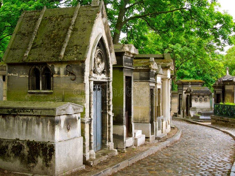 Oude begraafplaats Parijs stock fotografie