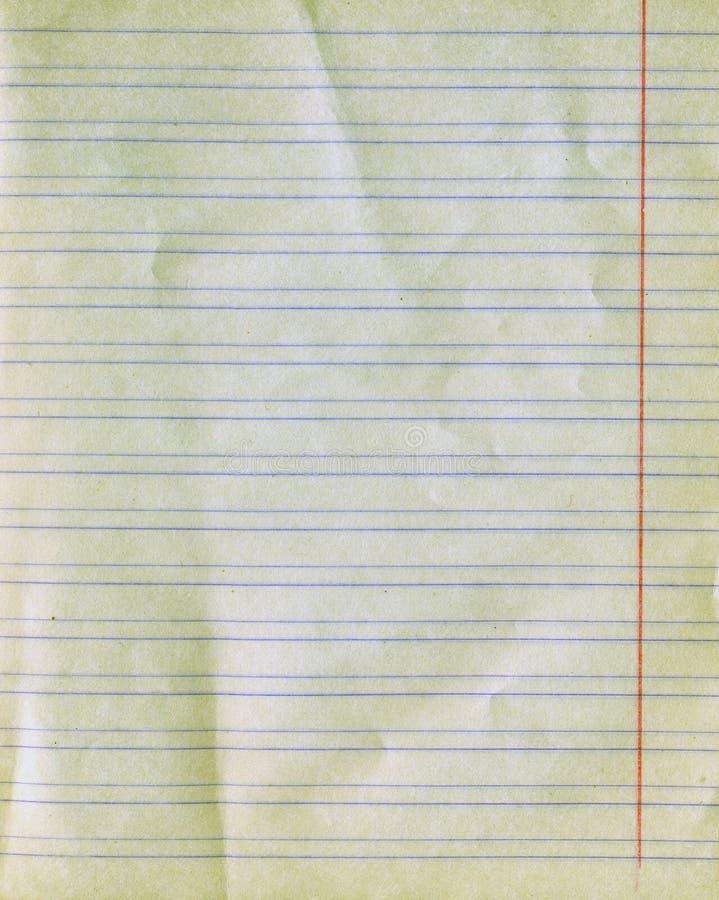 Oude besliste document textuur royalty-vrije stock fotografie
