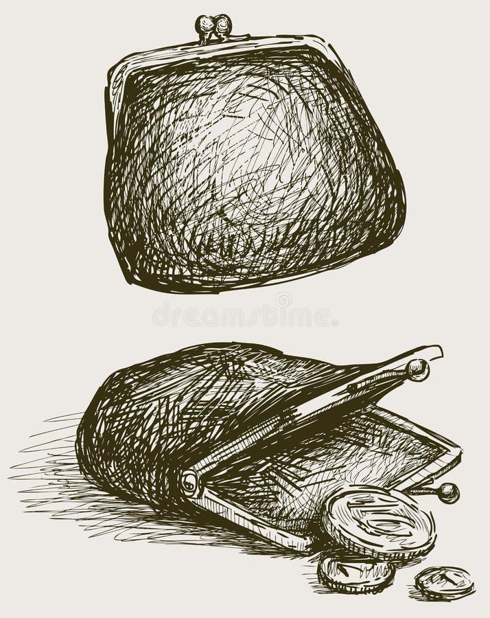 Oude Beurs vector illustratie