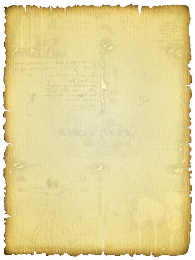 Oude bevlekte gescheurde textuur royalty-vrije stock foto
