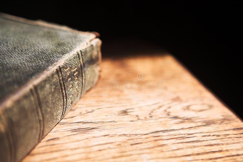 Oude Bijbel royalty-vrije stock afbeeldingen