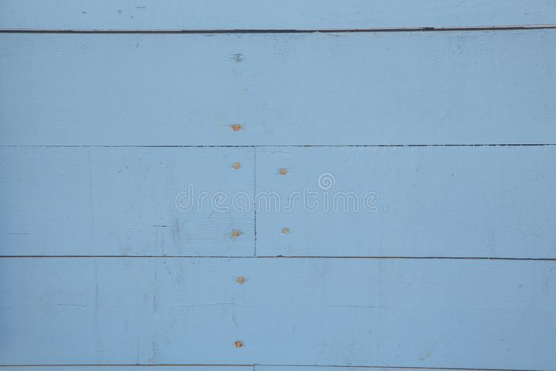 Oude blauwe houten muur stock foto's