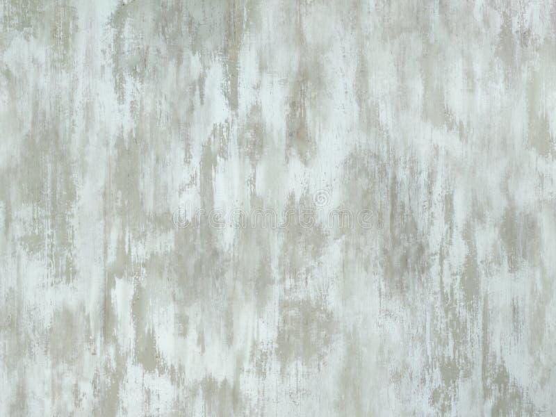 Oude bleke witte aqua geschilderde houten oppervlakte royalty-vrije stock afbeelding