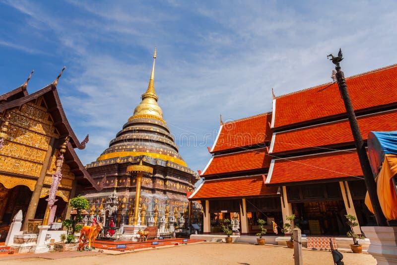 Oude Boeddhistische tempel stock foto