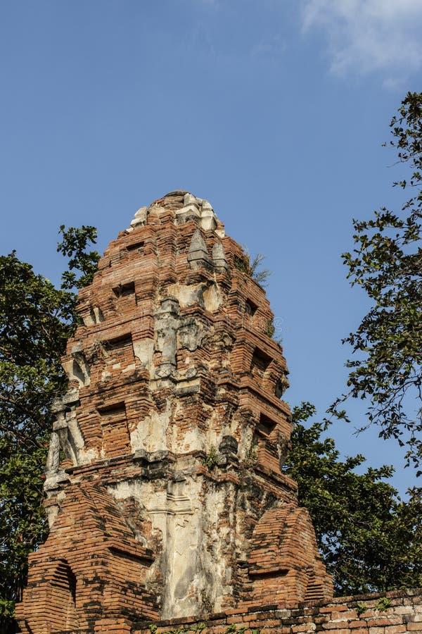 Oude Boeddhistische Tempel Wat Mahathat stock afbeeldingen