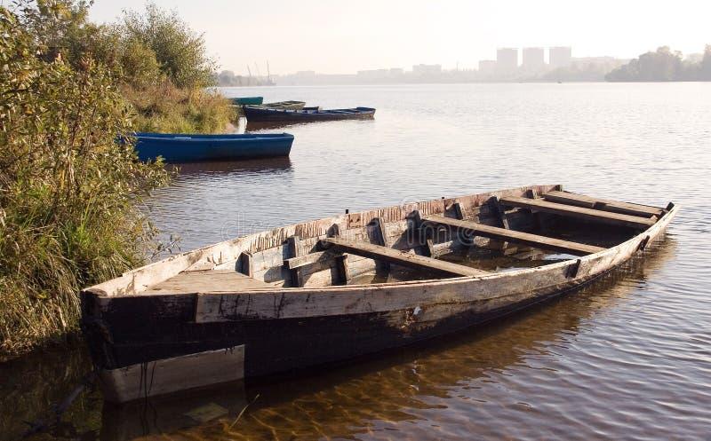 Oude boot-02 stock fotografie
