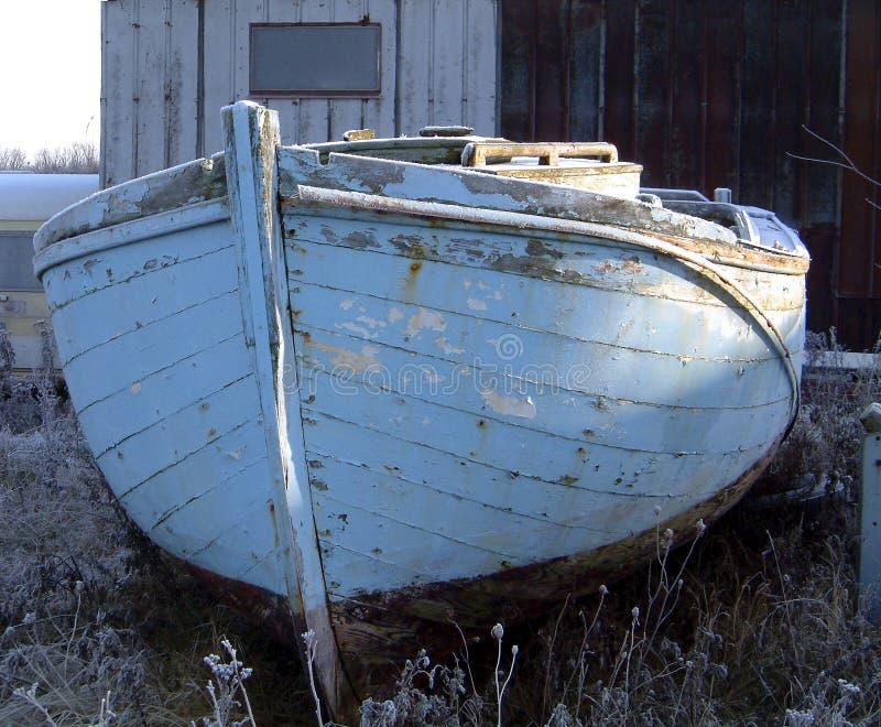 Oude Boot Stock Afbeeldingen