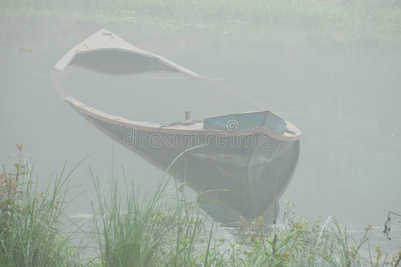 Oude boot stock foto's