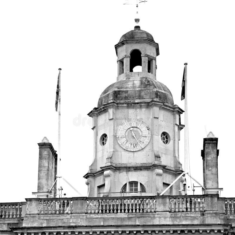oude bouw in de muurantiquiteit en licht van england Europa Londen royalty-vrije stock afbeelding