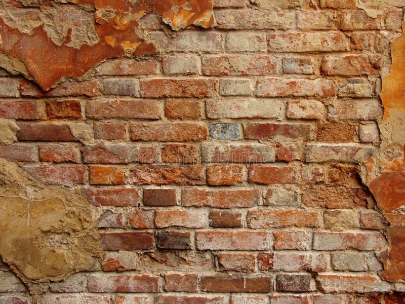 Oude brickwall royalty-vrije stock foto