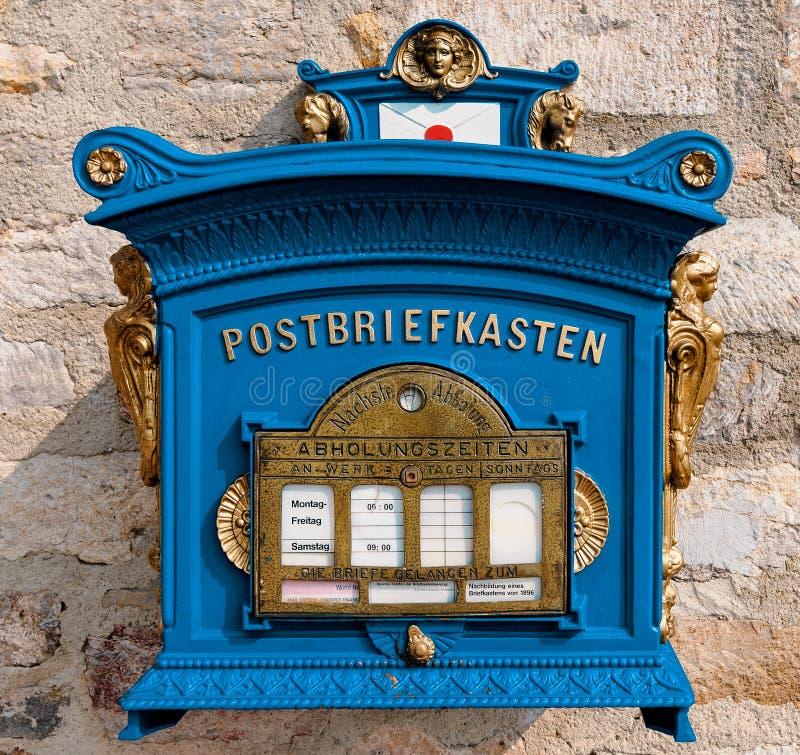 Oude brievenbus royalty-vrije stock foto's