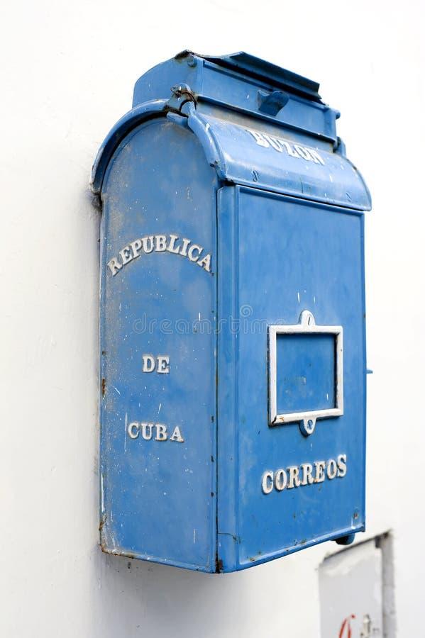 Oude Brievenbus - Havana, Cuba stock afbeelding
