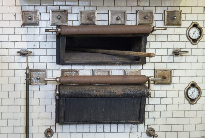 Oude broodoven die in klooster wordt gebruikt royalty-vrije stock foto's