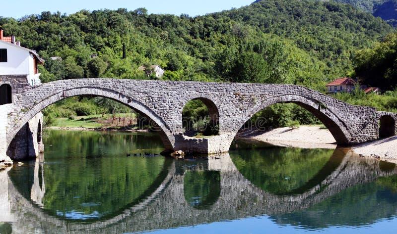 Oude brug stock fotografie