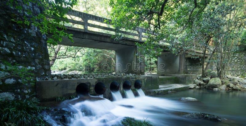 Oude brug stock afbeeldingen