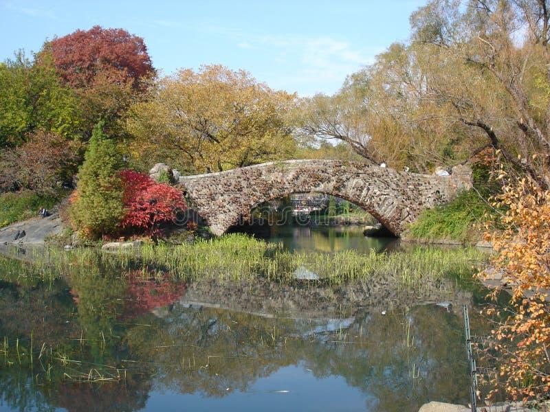 Oude brug 2 stock afbeelding