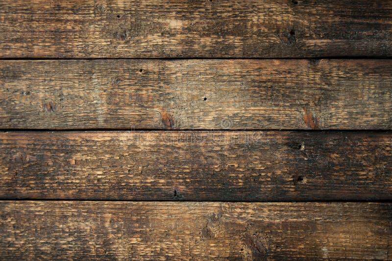 Oude bruine houten raad Houten Textuur royalty-vrije stock afbeeldingen