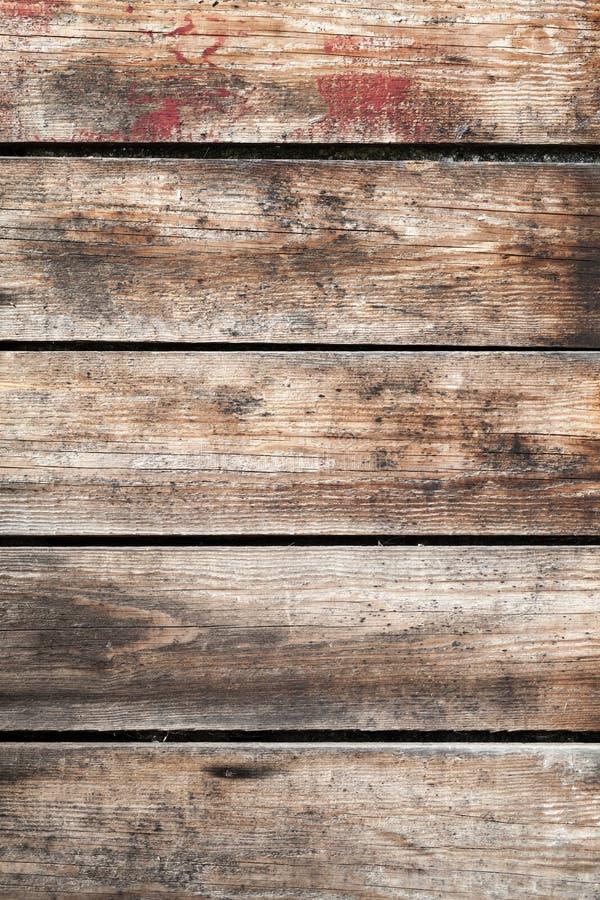 Oude bruine landelijke houten muurtextuur royalty-vrije stock foto's