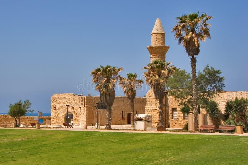 Oude Caesarea. royalty-vrije stock foto's