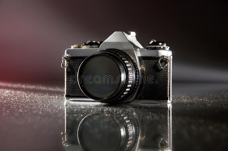 Oude Camera stock foto