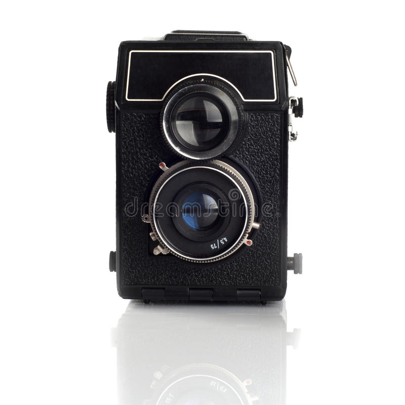 Oude camera Lomo stock foto