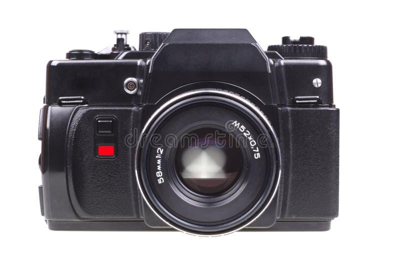 Oude camera SLR. royalty-vrije stock afbeeldingen