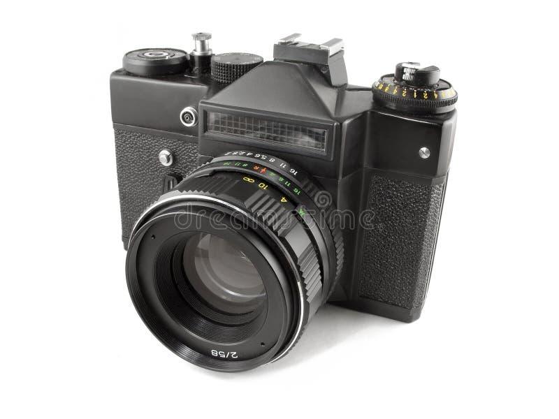 Oude camera SLR stock foto