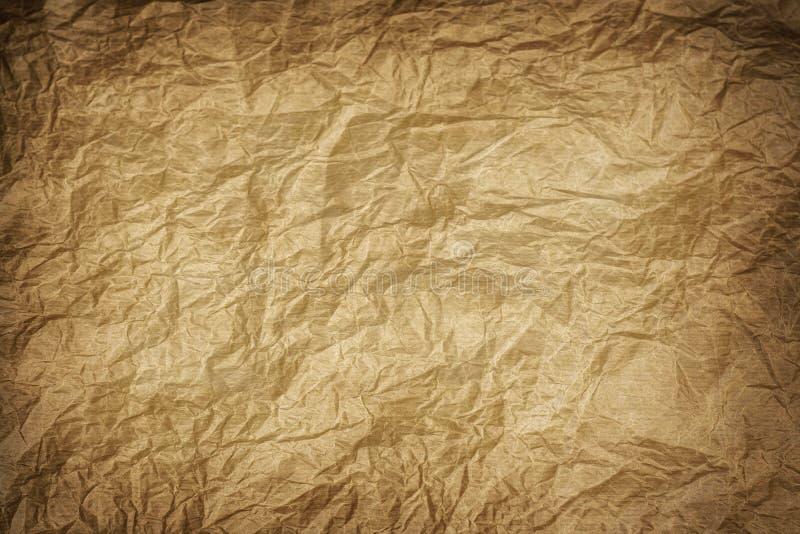 Oude carboarddocument textuur stock afbeelding