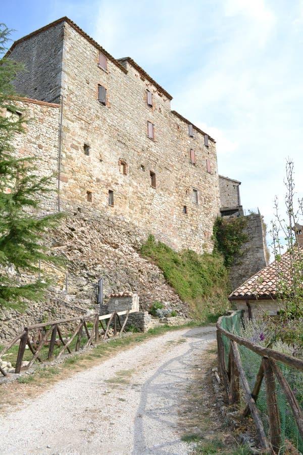 Oude castel royalty-vrije stock foto's