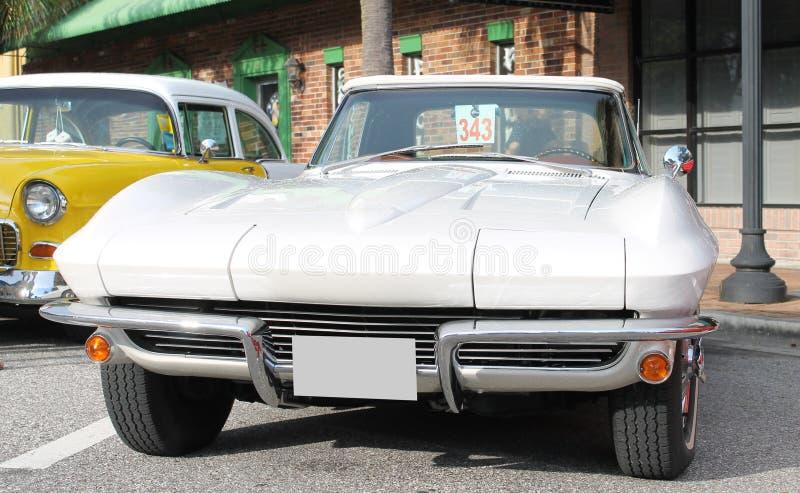 Oude Chevrolet-Auto stock afbeeldingen