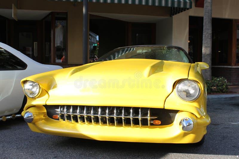 Oude Chevy Corvette-auto royalty-vrije stock afbeelding