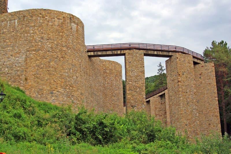 Oude citadel royalty-vrije stock afbeeldingen
