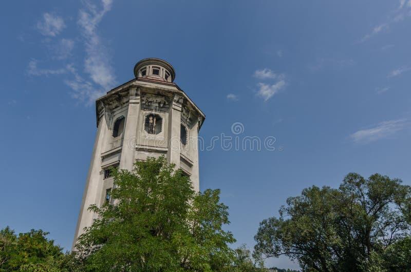 oude concrete toren royalty-vrije stock afbeelding