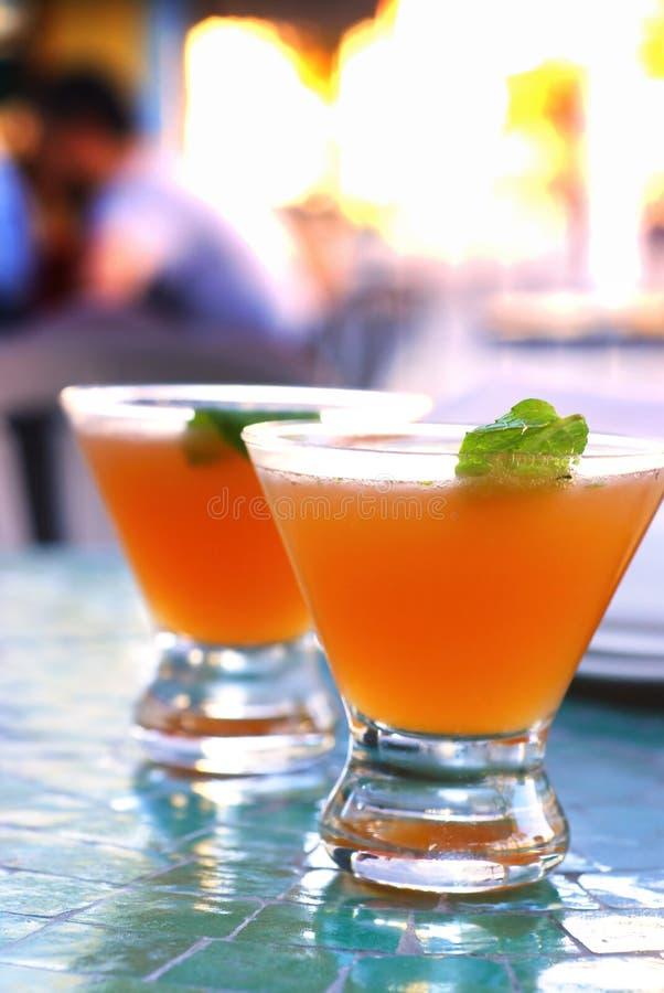 Oude Cubaanse Cocktail stock fotografie