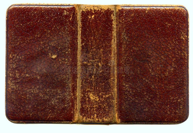 Oude de dekkingsvoorzijde van het Boek royalty-vrije stock afbeeldingen